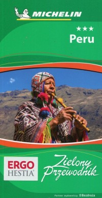 Peru michelin - okładka książki