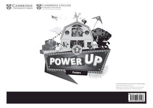 Power Up Level 2 Posters (10) - okładka podręcznika