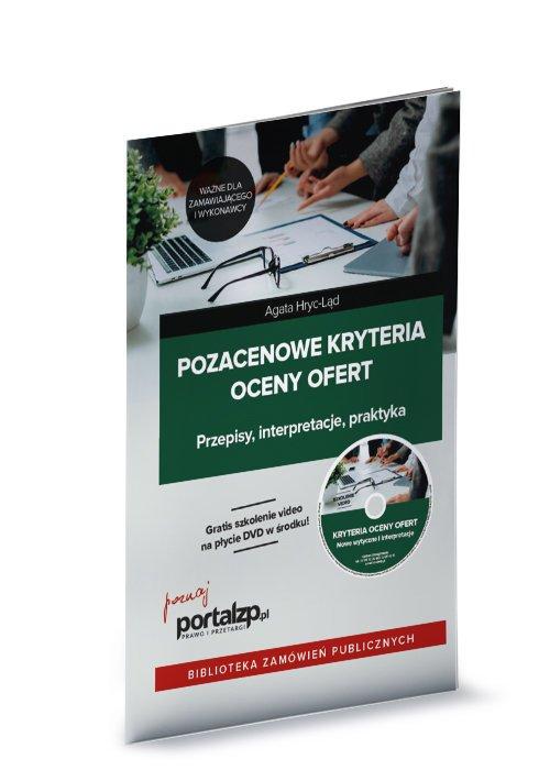 Pozacenowe kryteria oceny ofert - okładka książki