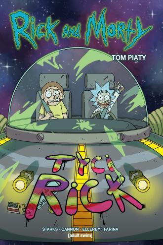 Rick i Morty. Tom 5 - okładka książki