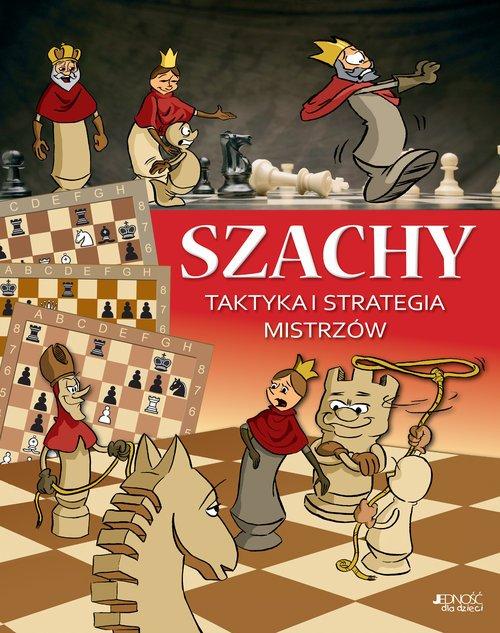 Szachy. Taktyka i strategia mistrzów - okładka podręcznika