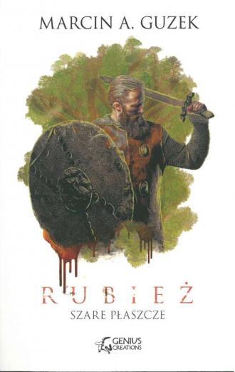 Szare Płaszcze Rubież - okładka książki