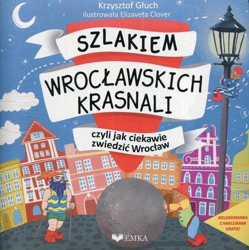 Szlakiem wrocławskich krasnali, - okładka książki