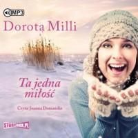 Ta jedna miłość (CD mp3) - pudełko audiobooku