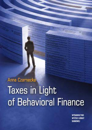 Taxes in Light of Behavioral Finance - okładka książki