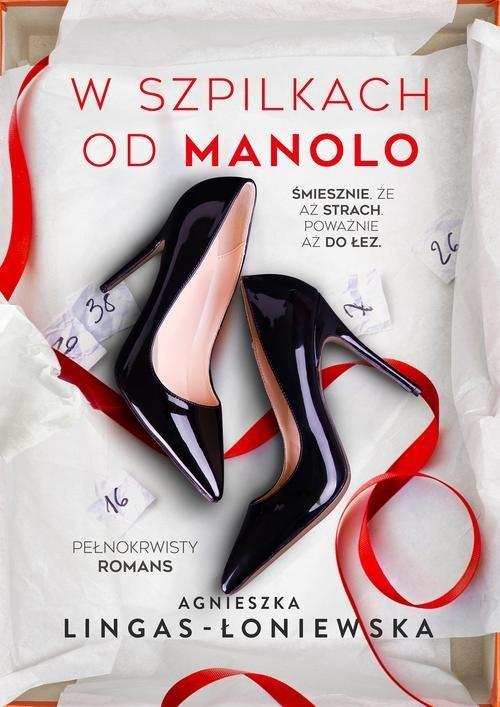W szpilkach od Manolo - okładka książki