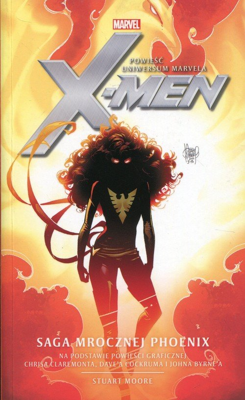 X-Men Saga Mrocznej Phoenix - okładka książki