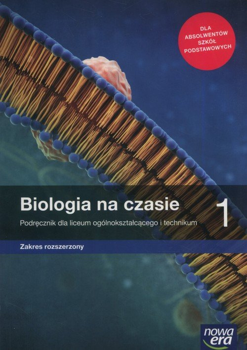 biologia na czasie 1 podręcznik zp nowa era 2019