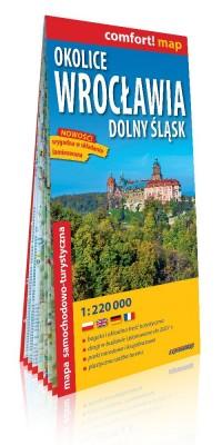 Comfort! map Okolice Wrocławia - okładka książki