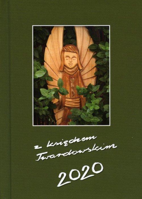 Kalendarz 2020 z ks Twardowskim - okładka książki