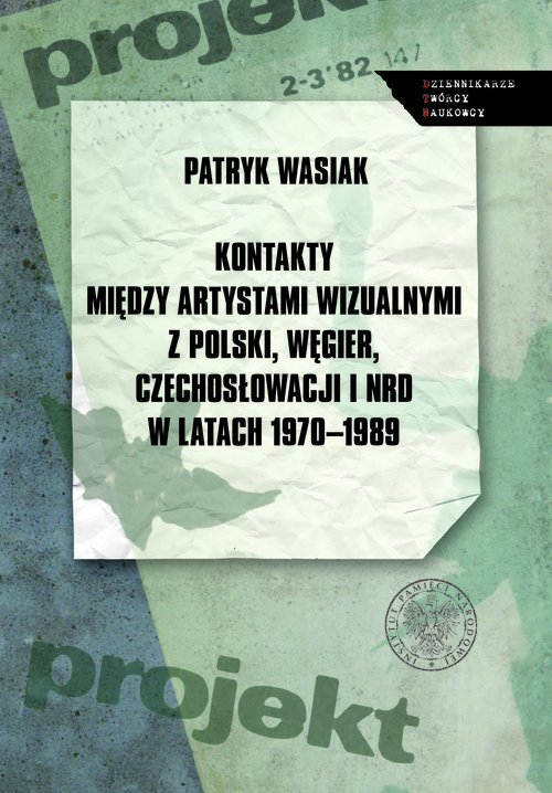 Kontakty między artystami wizualnymi - okładka książki