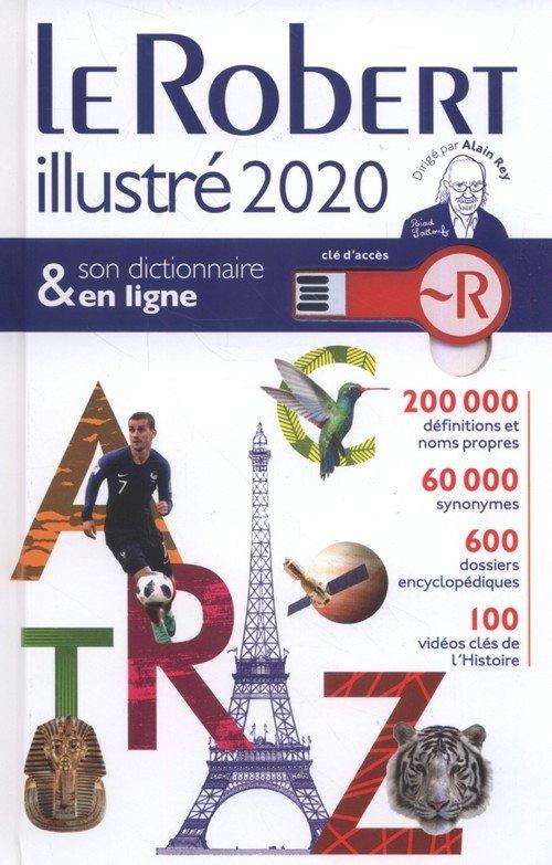 Le Robert illustré 2020 et son - okładka książki