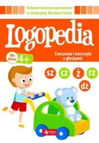 Logopedia. Ćwiczenia i wierszyki - okładka książki
