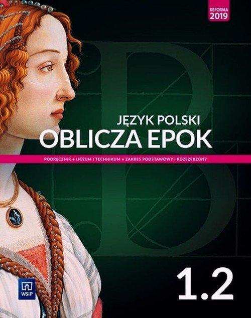 Oblicza epok. Język polski 1. Liceum. - okładka podręcznika