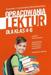 Opracowania lektur dla klas 4-6 - okładka podręcznika