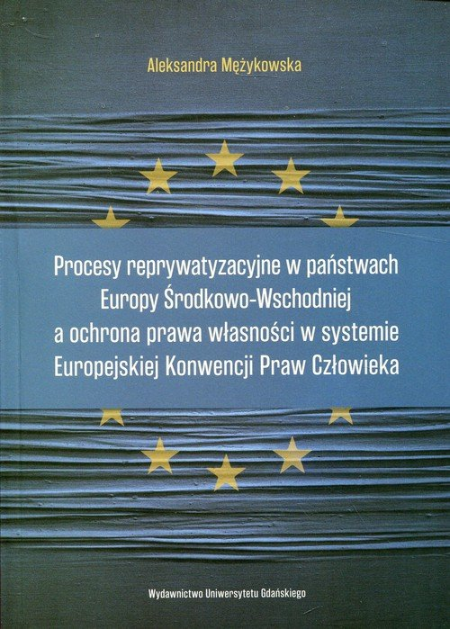 Procesy reprywatyzacyjne w państwach - okładka książki