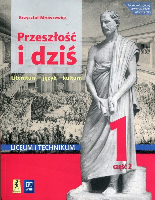Przeszłość i dziś. Język polski - okładka podręcznika