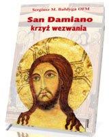 San Damiano - krzyż wezwania - okładka książki