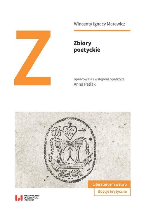 Zbiory poetyckie - okładka książki
