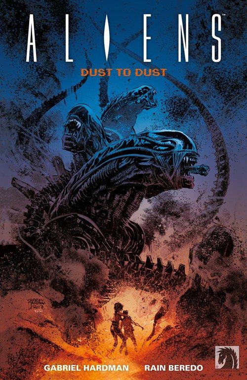 Aliens- Dust to Dust. Z prochu - okładka książki
