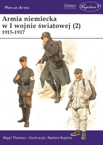 Armia niemiecka w I wojnie światowej - okładka książki