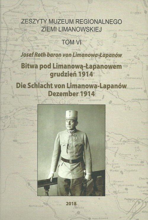 Bitwa pod Limanową-Łapanowem grudzień - okładka książki