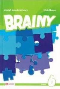 Brainy 6 Zeszyt do języka angielskiego - okładka podręcznika