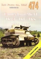 Carden-Loyd Mk VI TK-3 TKF TKS - okładka książki