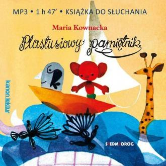Plastusiowy pamiętnik (CD mp3) - pudełko audiobooku