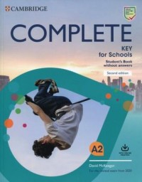 Complete Key for Schools A2 Students - okładka podręcznika