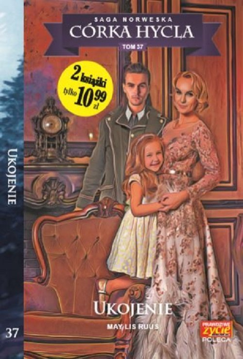 Saga Norweska. Córka hycla. Tom - okładka książki