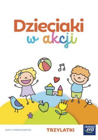 Dzieciaki w akcji 3-latki. Zestaw - okładka podręcznika