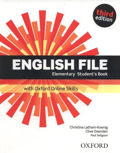 English File 3E Elementary SB + - okładka podręcznika