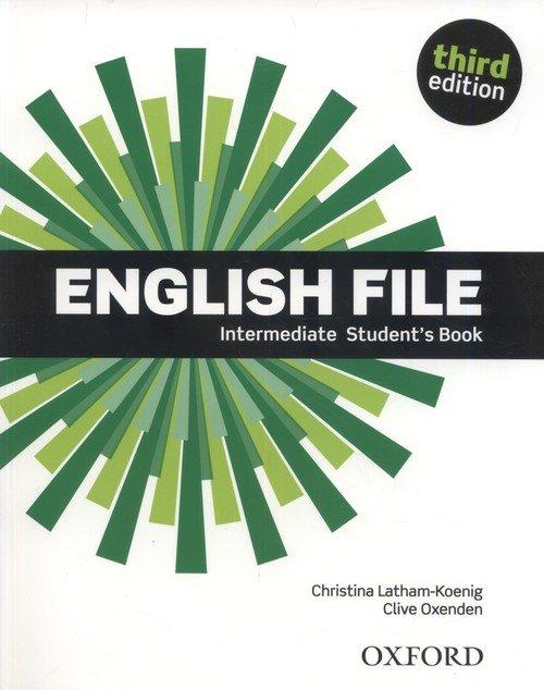 English File 3E Intermediate SB - okładka podręcznika