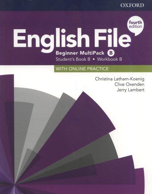 English File 4E Beginner Multipack - okładka podręcznika