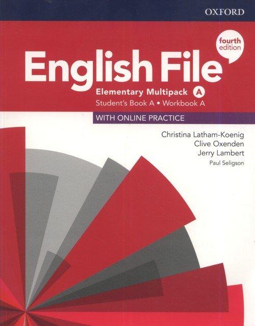 English File 4E Elementary Multipack - okładka podręcznika
