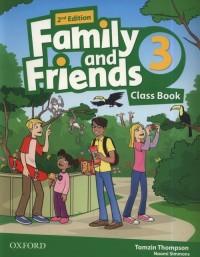 Family and Friends 2E 3 CB - okładka podręcznika