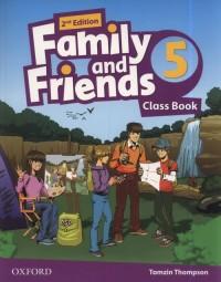 Family and Friends 2E 5 - okładka podręcznika