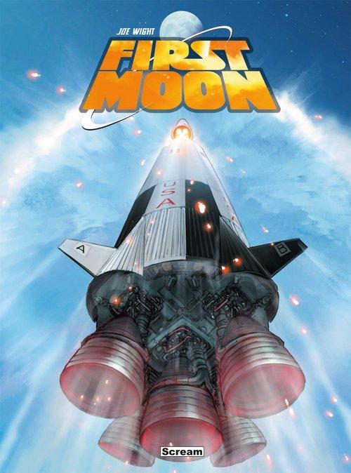 First Moon - okładka książki