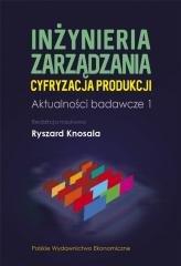 Inżynieria zarządzania. Cyfryzacja - okładka książki