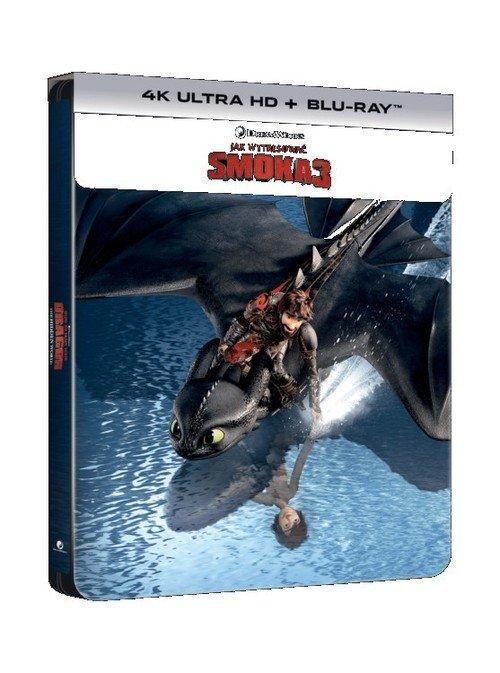Jak wytresować smoka 3 Steelbook - okładka filmu