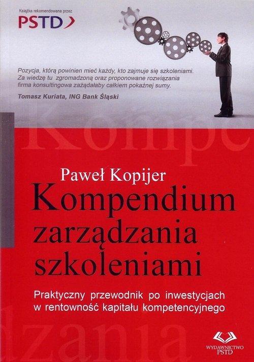 Kompendium zarządzania szkoleniami - okładka książki
