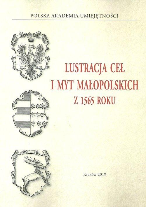 Lustracja ceł i myt małopolskich - okładka książki