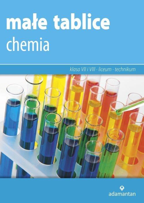 Małe tablice. Chemia 2019 - okładka podręcznika