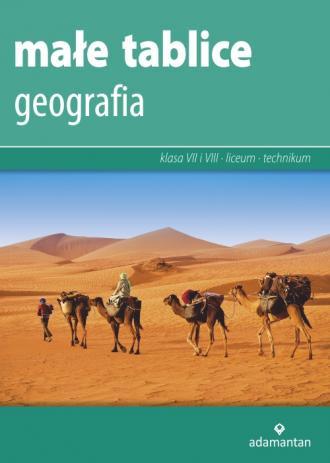 Małe tablice. Geografia 2019 - okładka podręcznika
