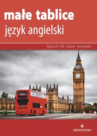Małe tablice. Język angielski 2019 - okładka podręcznika