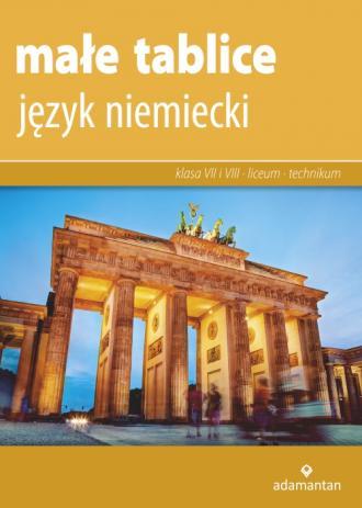 Małe tablice Język niemiecki 2019 - okładka podręcznika