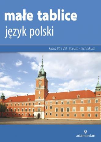 Małe tablice. Język polski 2019 - okładka podręcznika