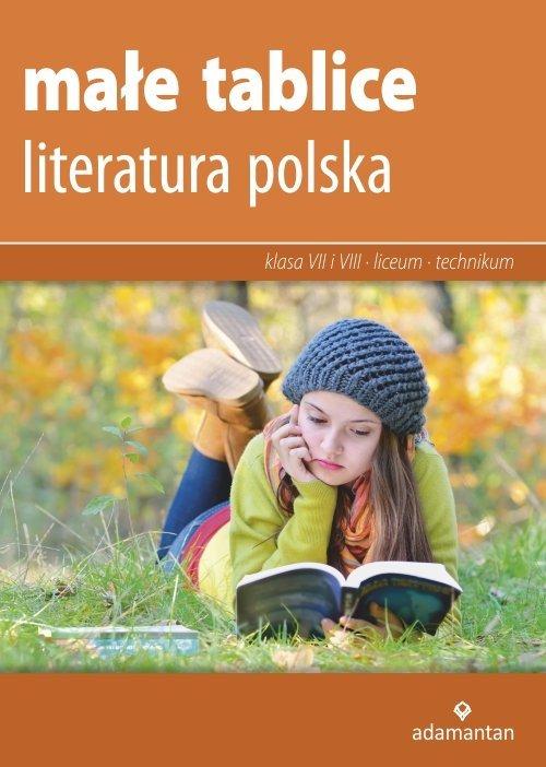Małe tablice. Literatura polska - okładka podręcznika