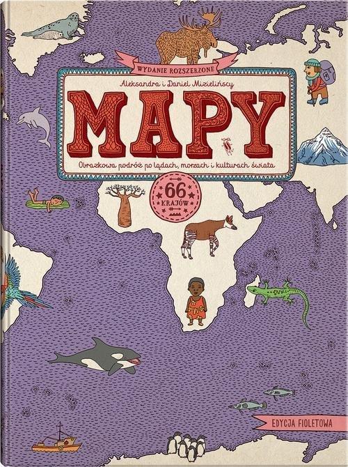 Mapy. Edycja fioletowa - okładka książki